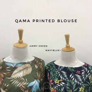 QAMA PRINTED BLOUSE