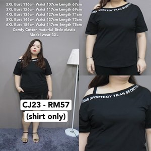 CJ23 Ready Stock  * Bust 116-156cm