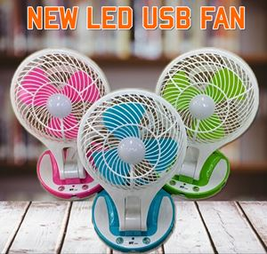 New LED USB Fan