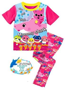 Pink Mommy Shark Doo Doo Pyjamas