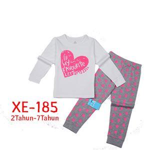 CALUBY XE-185 Kids Pyjama (2-7 tahun)