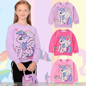 My Little Pony Pullover Sweater ( PONY RAINBOW ) SIZE 100-160