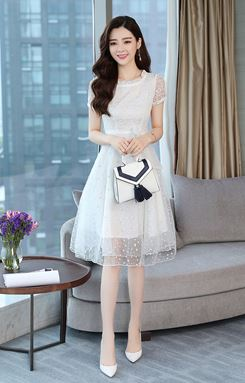 A-word Fairy Lace Dress