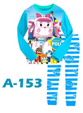 A-153 Kids Cartoon Pyjamas