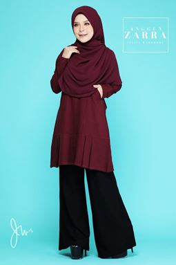 BLOUSE ANGGUN ZARRA ( DEEP PURPLE )