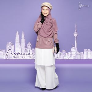 ERONICA MODERNISTIC ~WHITE~ (SOFT PURPLE)