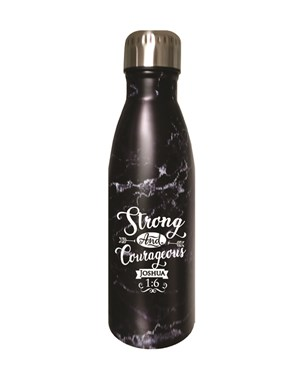 Sport Bottle - Strong and Courageous
