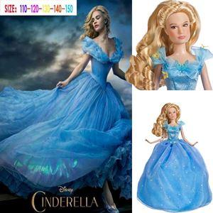 @  CINDERELLA DRESS 2. ( Size 140 )