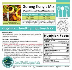 Goreng Kunyit (Ayam/Sotong/Udang Masak Kunyit)