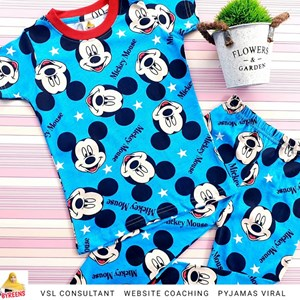 PYJAMAS SEDONDON MICKEY MOUSE BLUE