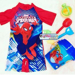 SPIDERMAN RED SWIM SUIT