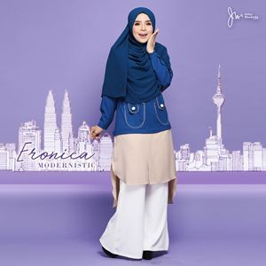 ERONICA MODERNISTIC ~NUDE~ (MEDIUM BLUE)