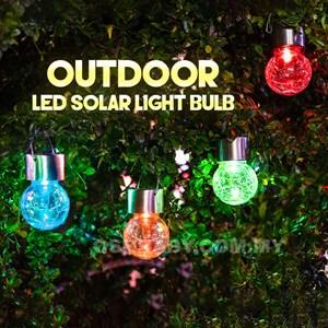 OUTDOOR LED SOLAR LIGHT BULB