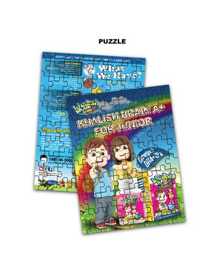 Puzzle, Khalish A+ for Junior, 1 pcs