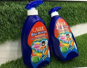 CARRIE BAC BUSTER ANTIBACTERIAL Super Hair & Body Wash