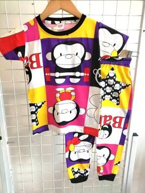 Pyjamas FUNKY MONKEY :  BIG Size 12