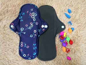 Cloth Pad - Floral ( Be Creative) Size L