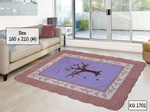KQ 1701 3D GOOD QUALITY CARPET PATCHWORK (160 X 210)