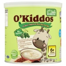 O'Kiddos Mix Vegetable Bario Rice Porridge For Age 6+ Months 220g