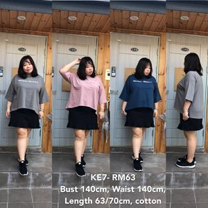 KE7 *Ready Stock *Bust up 140cm