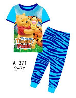 A-371 'Tiger & Pooh' Pyjama (2 - 7 tahun)