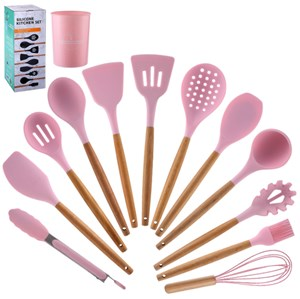 12 KITCHEN TOOLS - PINK