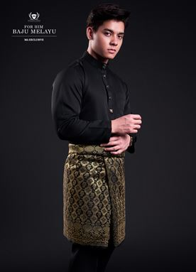 Baju Melayu For Him (Exclusive Black)