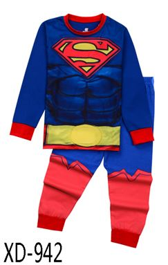 XD-942 'SUPERMAN' KIDS PYJAMAS