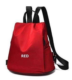 ANTI-THIEF BAGPACK RED