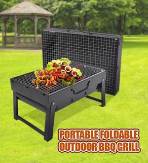Portable Foldable Outdoor BBQ Grill ETA 1 MARCH 19