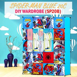 Spider-Man Blue 20C Diy Wardrobe (SP20B)