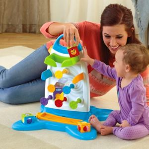 Fisher-Price: Roller Blocks Play Wall