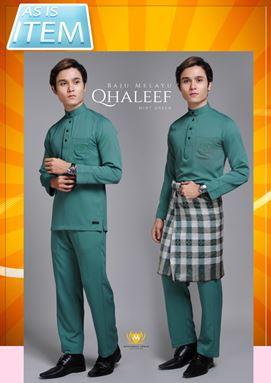 #DEFECT# BAJU MELAYU QHALEEF (MINT GREEN)