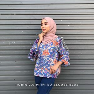 ROBIN 2.0 PRINTED BLOUSE