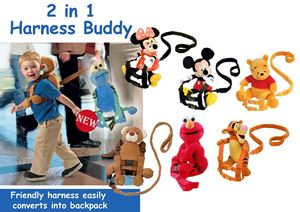 2 in 1 harness buddy
