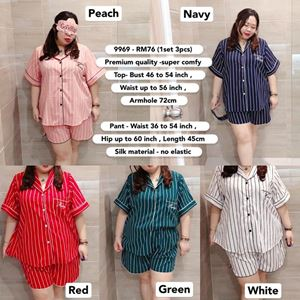 9969 Ready Stock *Bust 46 to 54 inch/ 116-137cm