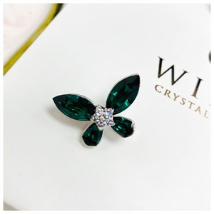 Brooch Yara Emerald