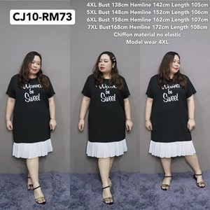 CJ10 Ready Stock  * Bust138-168cm