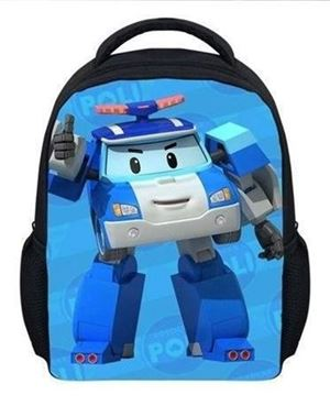 @  ROBOCAR BACKPACK -POLI ( BLUE )