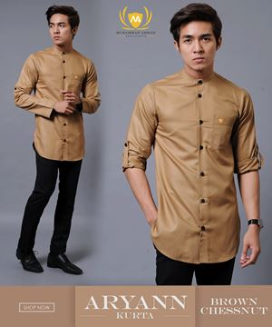 KURTA ARYANN 1ST BATCH ( BROWN CHESSNUT )