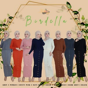 BIRDELLA KNIT CASUAL SUIT