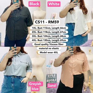 CS11 Ready Stock *Bust 44 to 51 inch/ 112-130cm