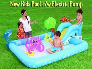 New Kids Pool c/w Electric Pump