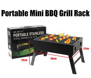 Portable Mini BBQ Grill Rack