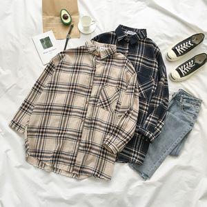 Sofia Long Sleeve Plaid Shirt