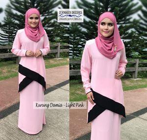 Kurung Damia Light Pink