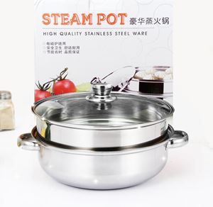 28 cm steaming soup pot stainless steel high quality cookware ( Periuk  tebal Quality Tinggi)