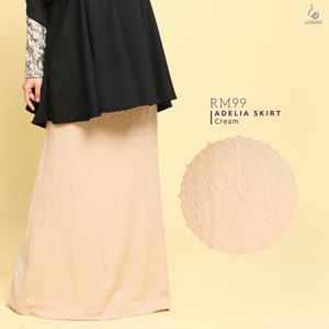 Adelia Skirt LuxeLabel : Cream