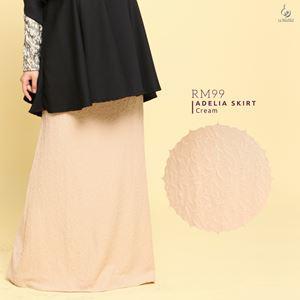 Adelia Skirt LuxeLabel : Cream