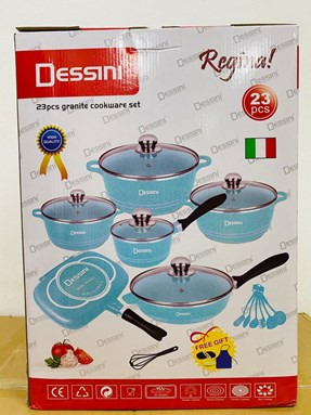 [ETA 15th AUG] DESSINI 23PCS BLUE